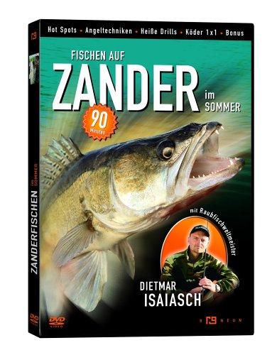 Angeln auf Zander im Sommer (Dietmar Isaiasch,DVD)