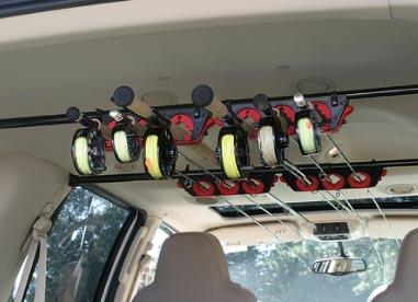 Rodloft PRO – Der Rutenhalter fürs Auto