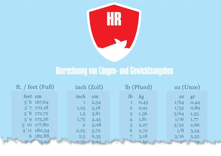 Download Umrechnung Länge und Gewicht