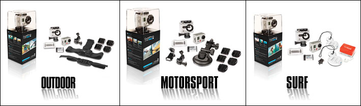 GoPro HD Hero Bundles