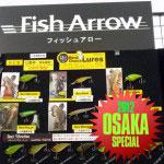 Osaka 2012: Fish Arrow Hardbaits und Flash J Shad