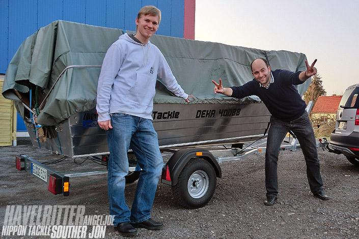 Souther JON Aluminiumboote
