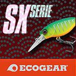 Wobbler aus der Ecogear SX-Serie bei Camo Tackle