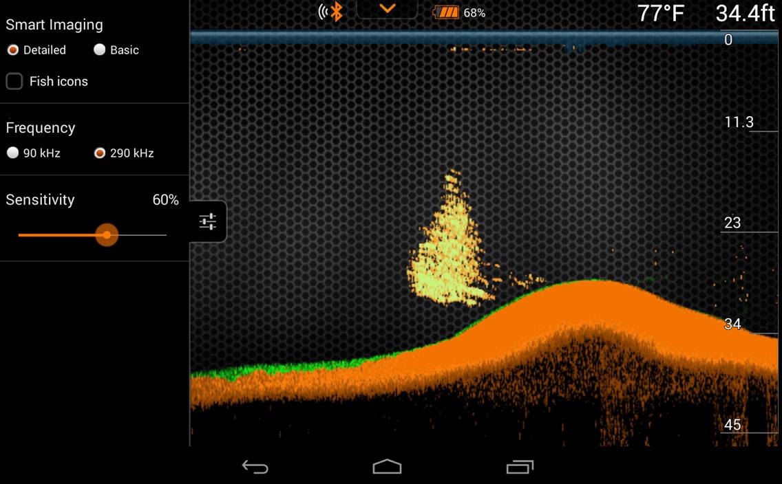 Deeper Fishfinder App