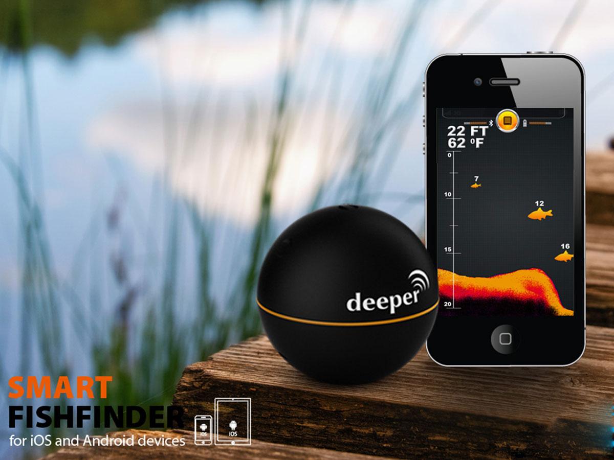 Deeper Smart Fishfinder - Echolot fürs Handy