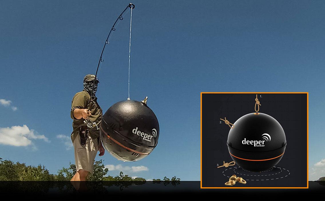 Die Deeper Fishfinder Sonarboje