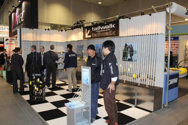 Tailwalk Messestand Osaka 2013