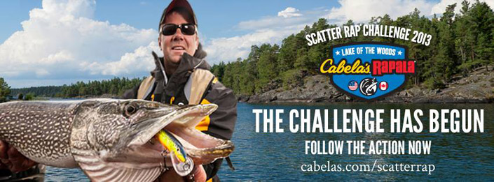 Rapala / Cabelas Scatter Rap Challenge - Lake of the Woods