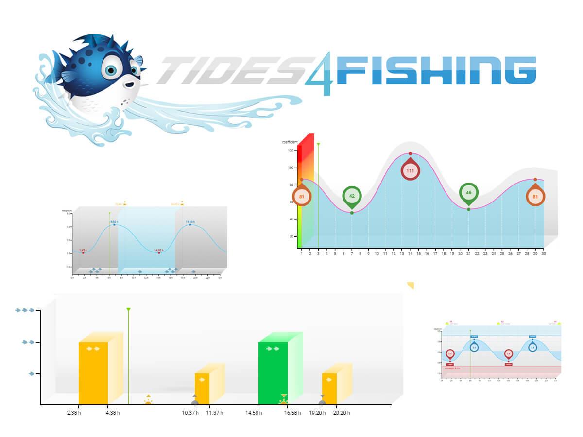 Tidenhub, Ebbe & Flut - Gezeitentabelle für Angler