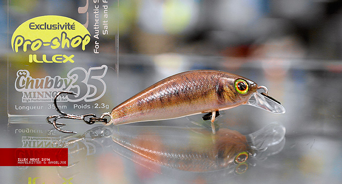 Illex Mini-Wobbler – Ultra Light Minnows für 2014