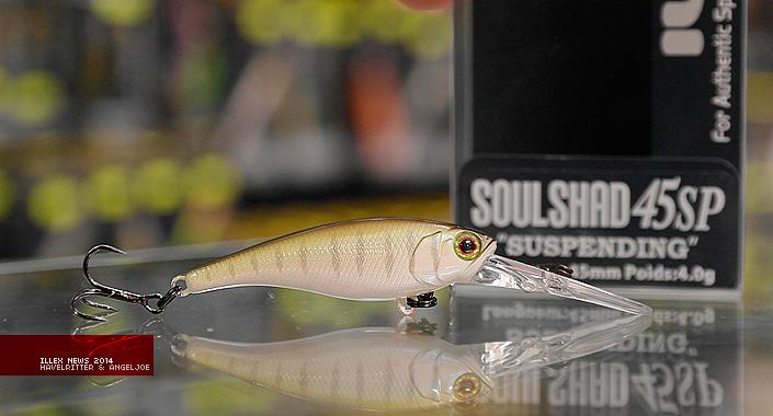 Illex Soul Shad 45 SP / 52 SP