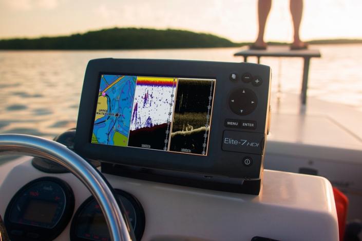 Lowrance Elite 7 HDI - Echolot mit GPS Kartenplotter