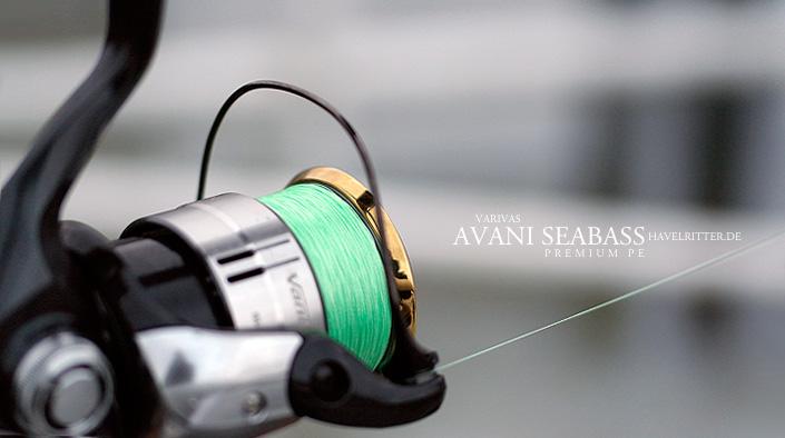 Varivas Avani Seabass Premium PE - 150 Meter Glück in Lime Green!