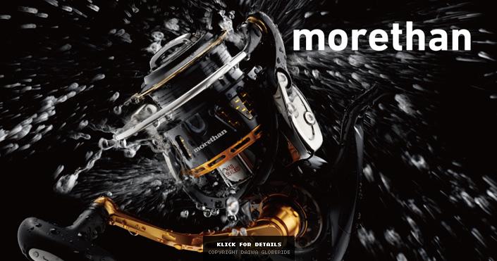 DAIWA Morethan 2014 - Premium Angelrolle mit Frontbremse