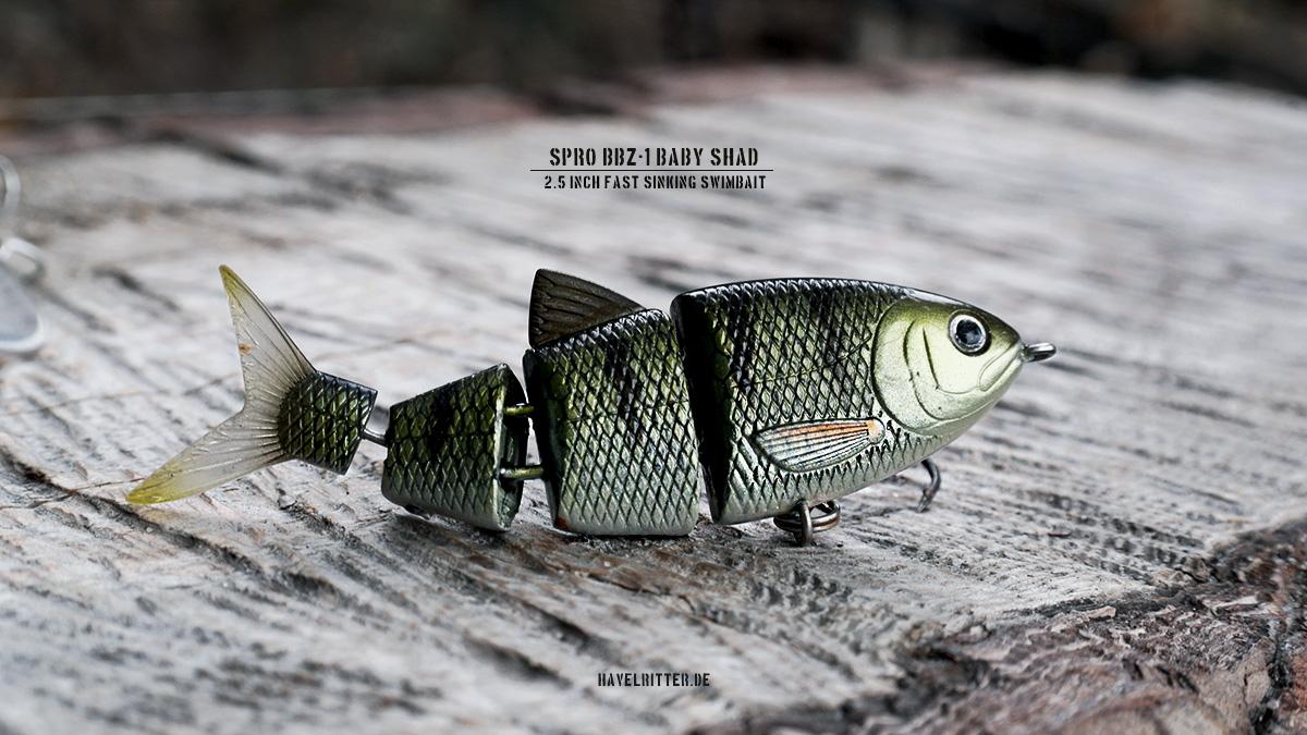 SPRO BBZ-1 Baby Shad - Fast Sinking Swimbait