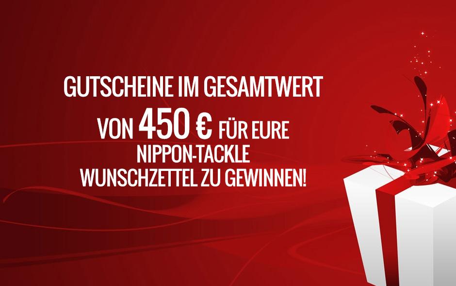 Gutscheine im Gesamtwert von 450 € zu gewinnen!