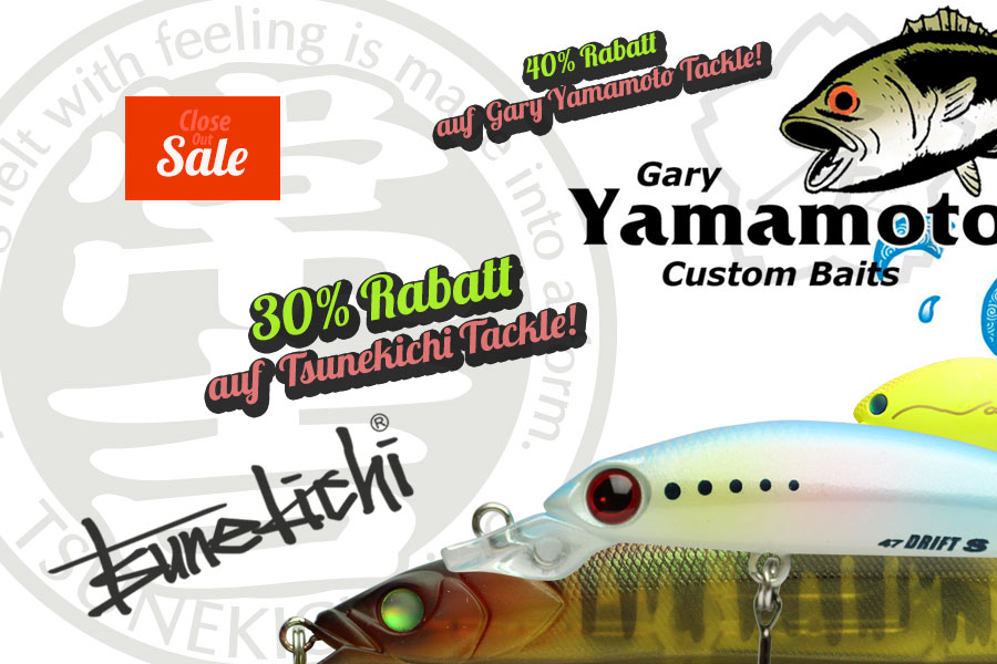 Close Out Sale bei Nippon Tackle