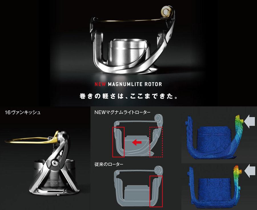 MGL Magnumlite Rotor - Shimano Vanquish XJ 2016 Hagane