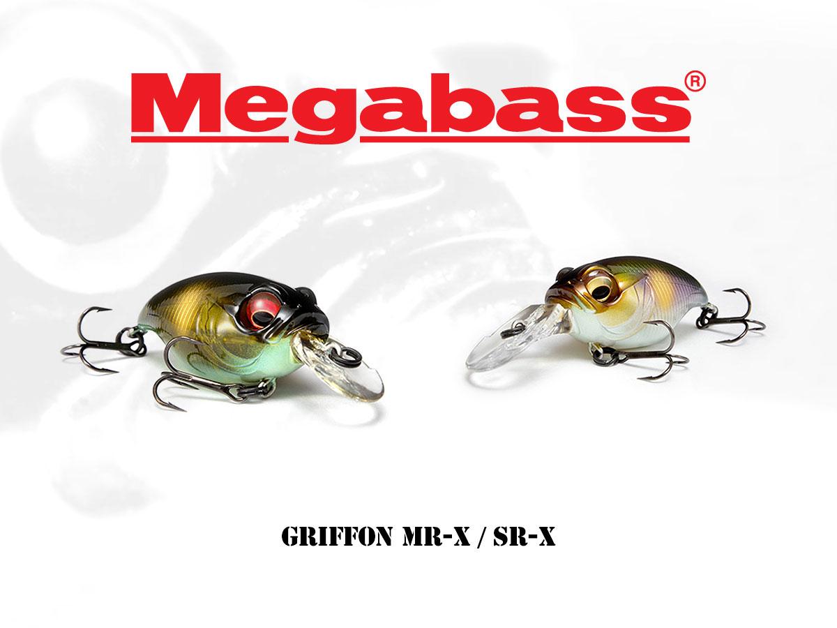 Megabass Griffon MR-X / SR-X Crankbaits