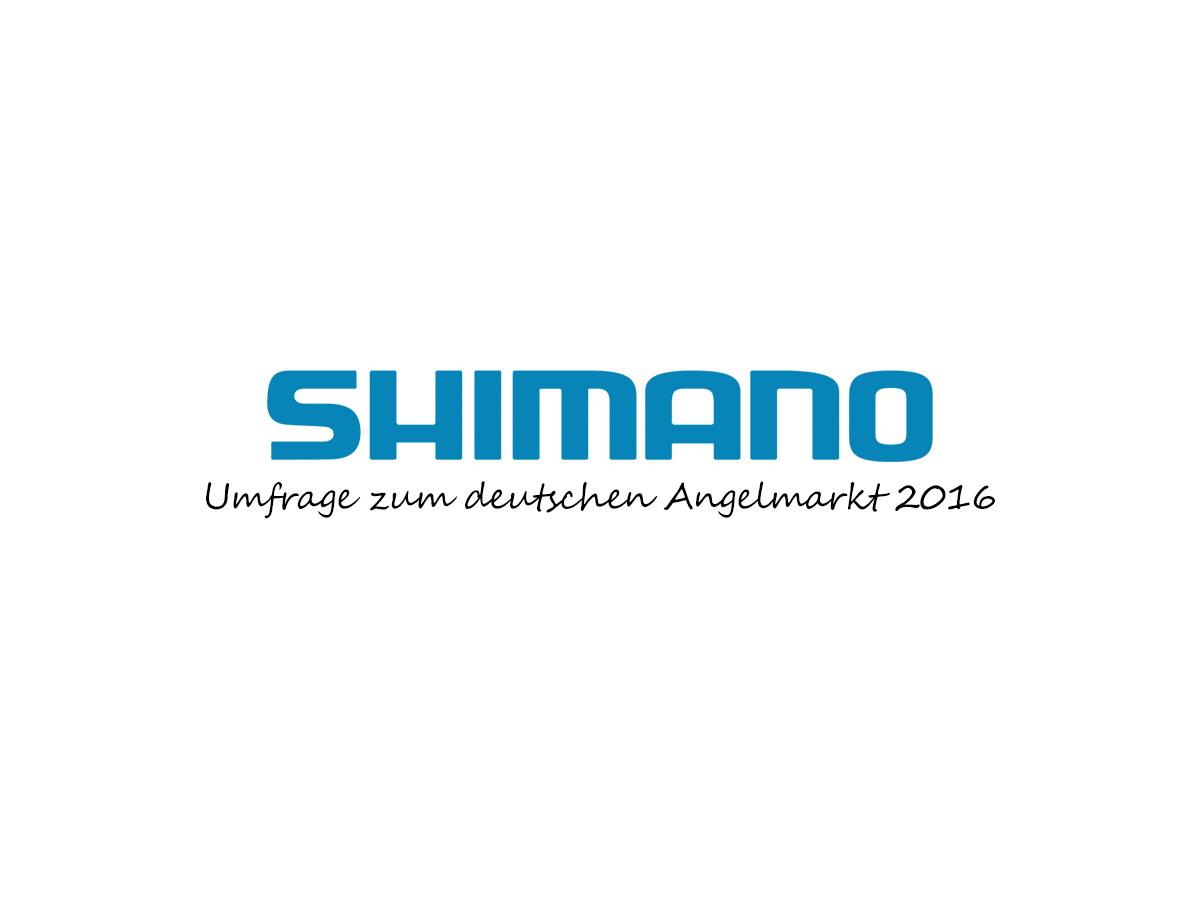 Shimano Umfrage zum deutschen Angelmarkt 2016