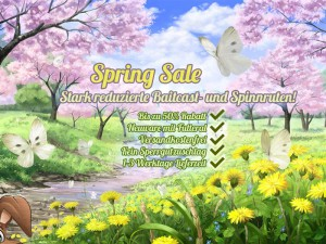 Its Spring Sale Baby! Stark reduzierte Angelruten bei Nippon-Tackle