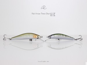 Die neuen Three Shot Minnows von Fish Arrow