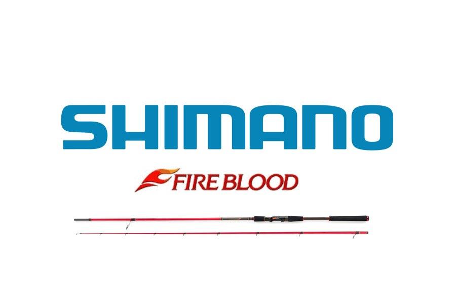 Die neuen Shimano Fireblood Spinnruten im Überblick