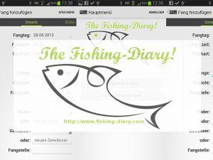 Daten sichern! die Fangbuch-App wird vermutlich eingestellt