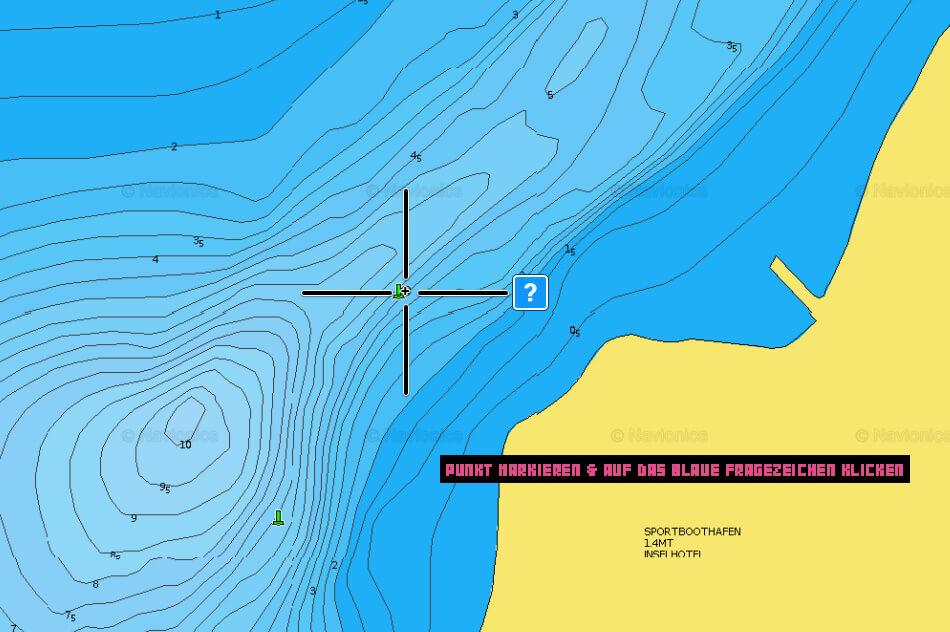 Schritt 1: Detailinformationen auf der Gewässerkarte abrufen