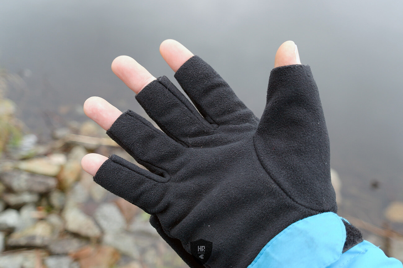 Eiger Fleece Glove Combi, 2