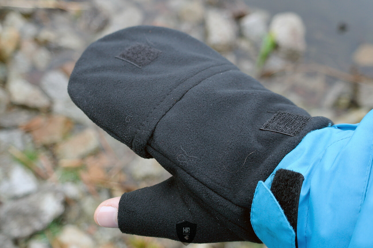 Eiger Fleece Glove Combi, 5