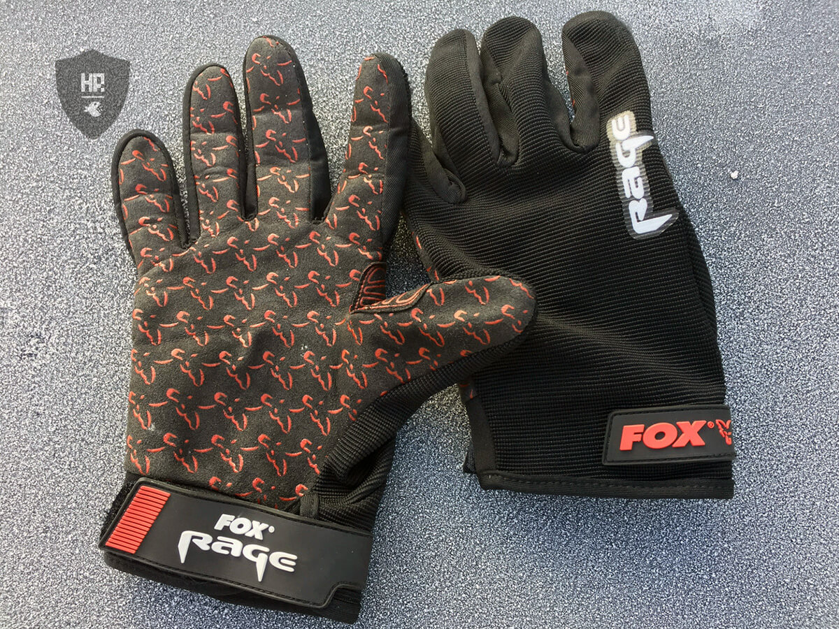 Fox Rage Power Grip Landehandschuh im Test - 1
