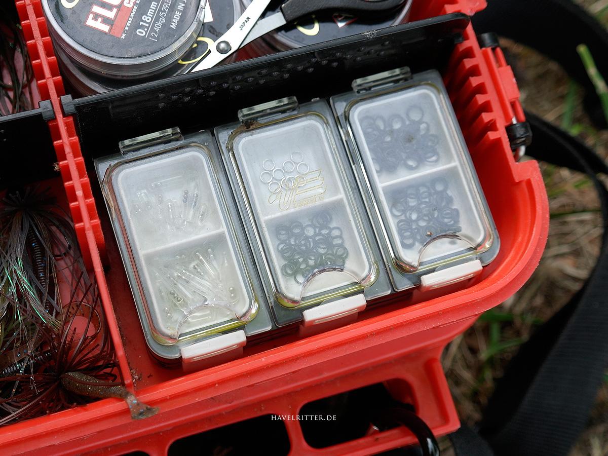 MEIHO Versus VS-420 - Aufbewahrung in MEIHO Versus VS-3080 Tackle Koffer, rechts oben