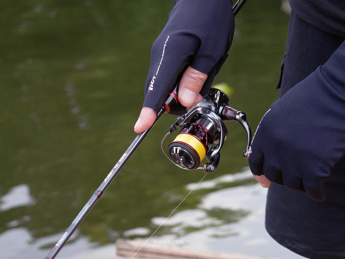Tict Titanium 3 Fingerless Handschuh - Fishability & funktionale Eigenschaften