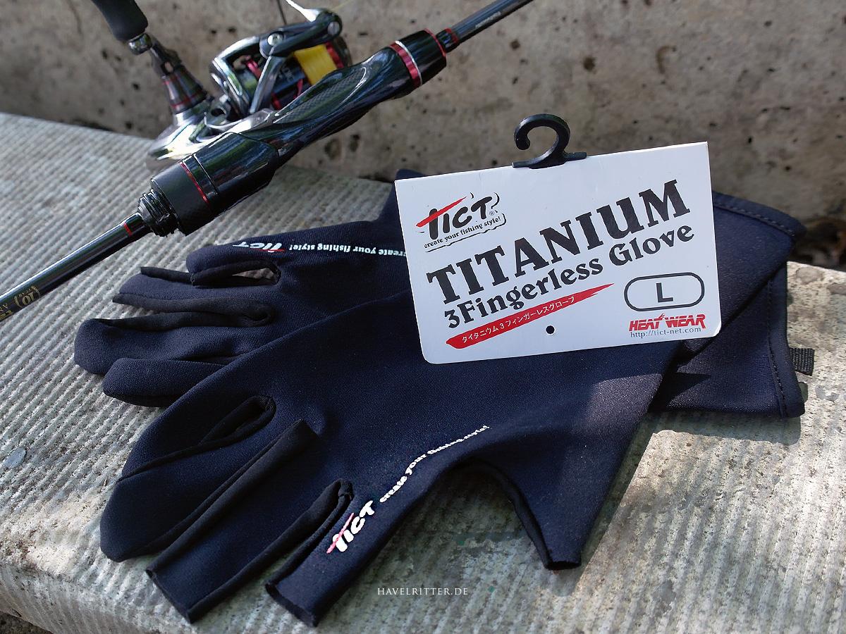 Tict Titanium 3 Fingerless Neoprenhandschuh im Test