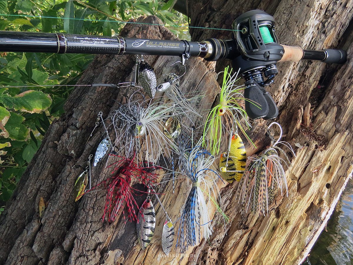 Tailwalk Fullrange C70M/G im Test - Spinnerbaits