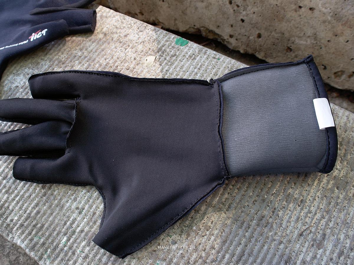 Tict Titanium 3 Fingerless Neoprenhandschuh - Material und Verarbeitung, 2