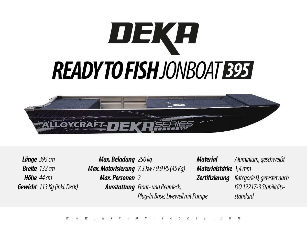 DEKA Jon Boat 395 - Angelboot aus Aluminium