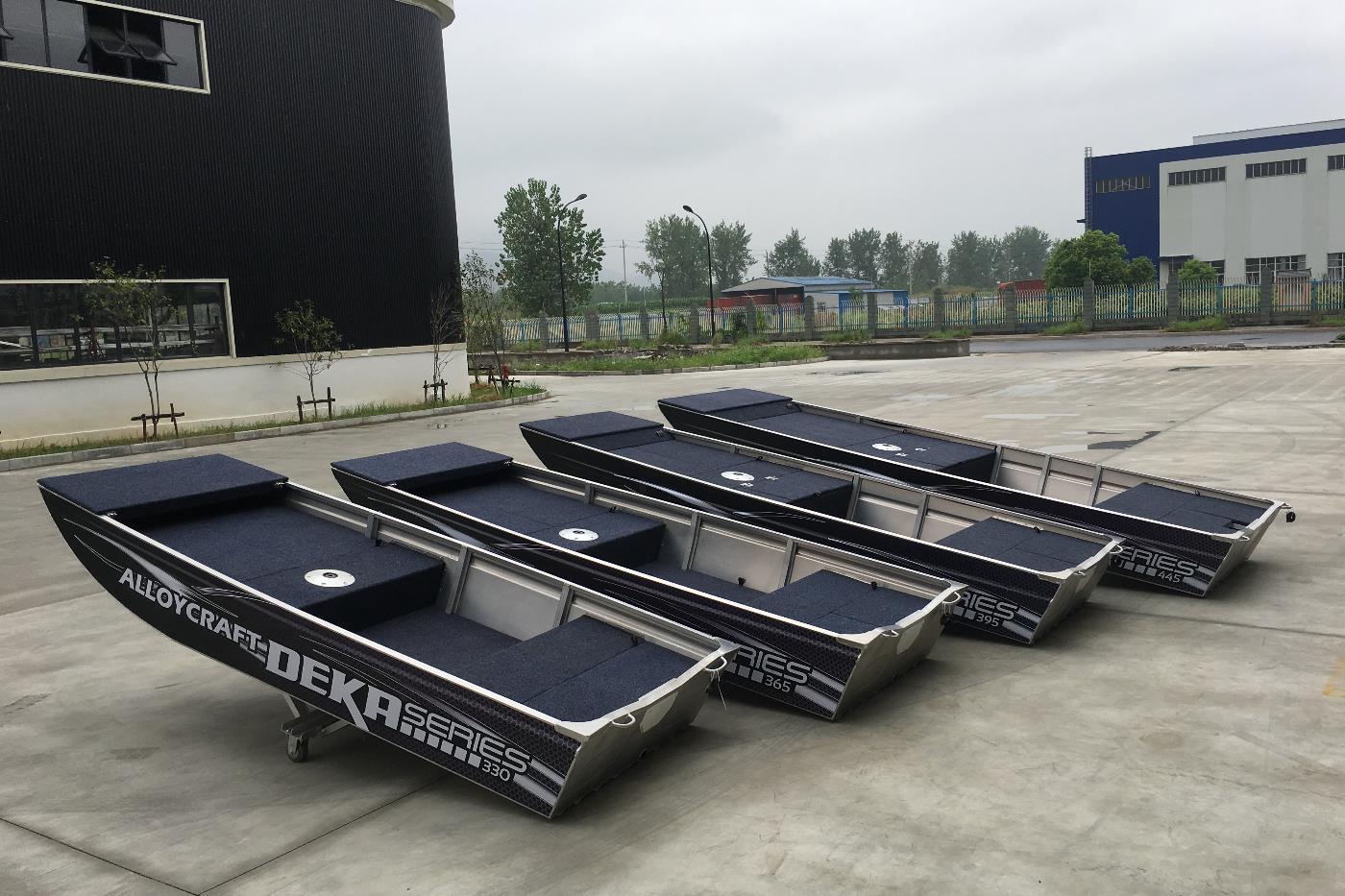 DEKA Jon Boat Größen im Vergleich