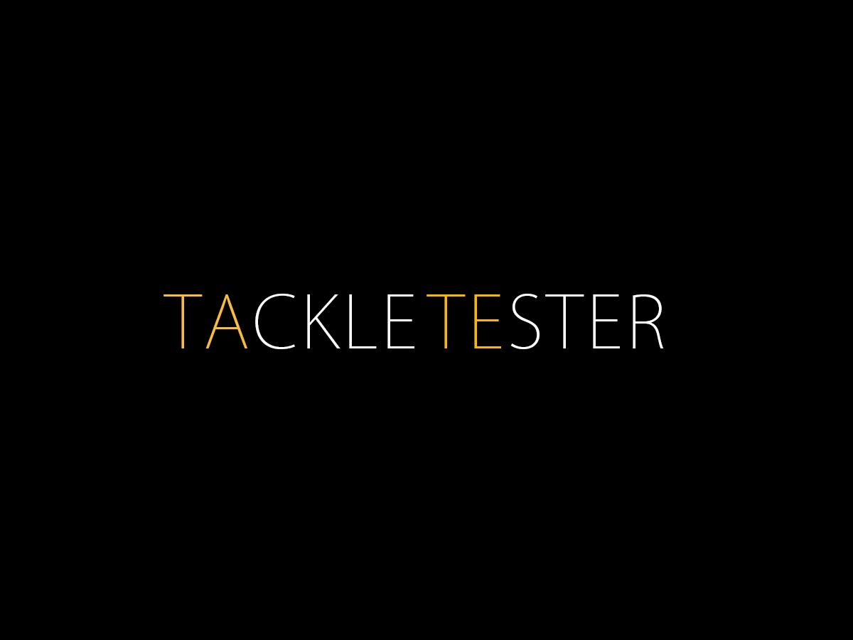 Tackle-Tester Blog