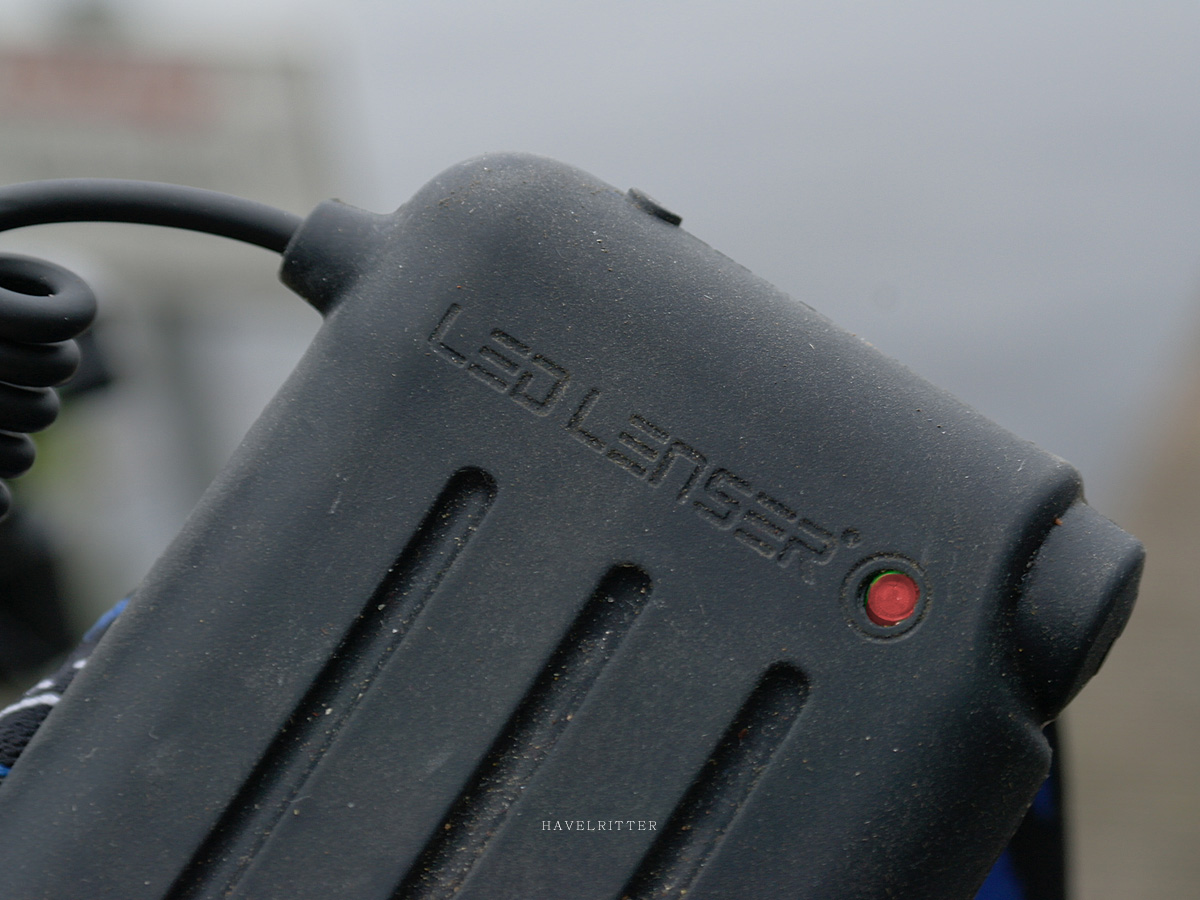 Ledlenser H14 - Stromstatus mit Low Battery Warning