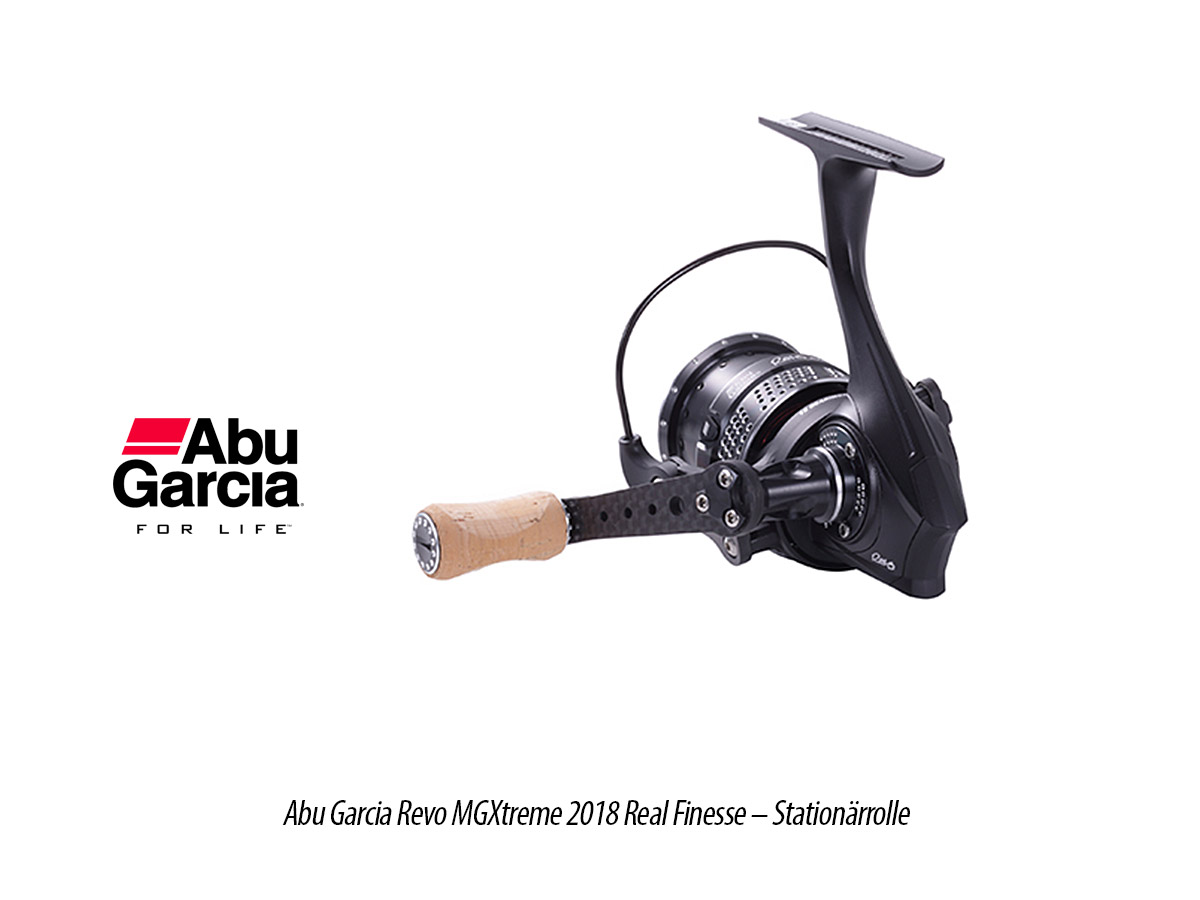 Abu Garcia Revo MGXtreme 2018 Real Finesse - Stationärrolle, 2