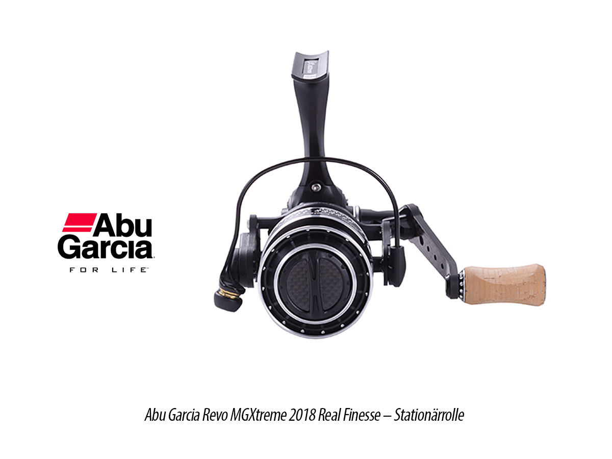 Abu Garcia Revo MGXtreme 2018 Real Finesse - Stationärrolle, 3