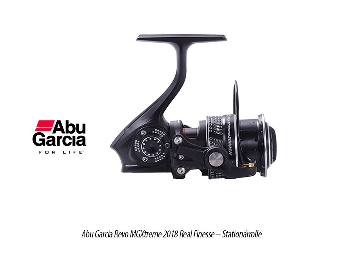 Abu Garcia Revo MGXtreme 2018 Real Finesse - Stationärrolle, 5