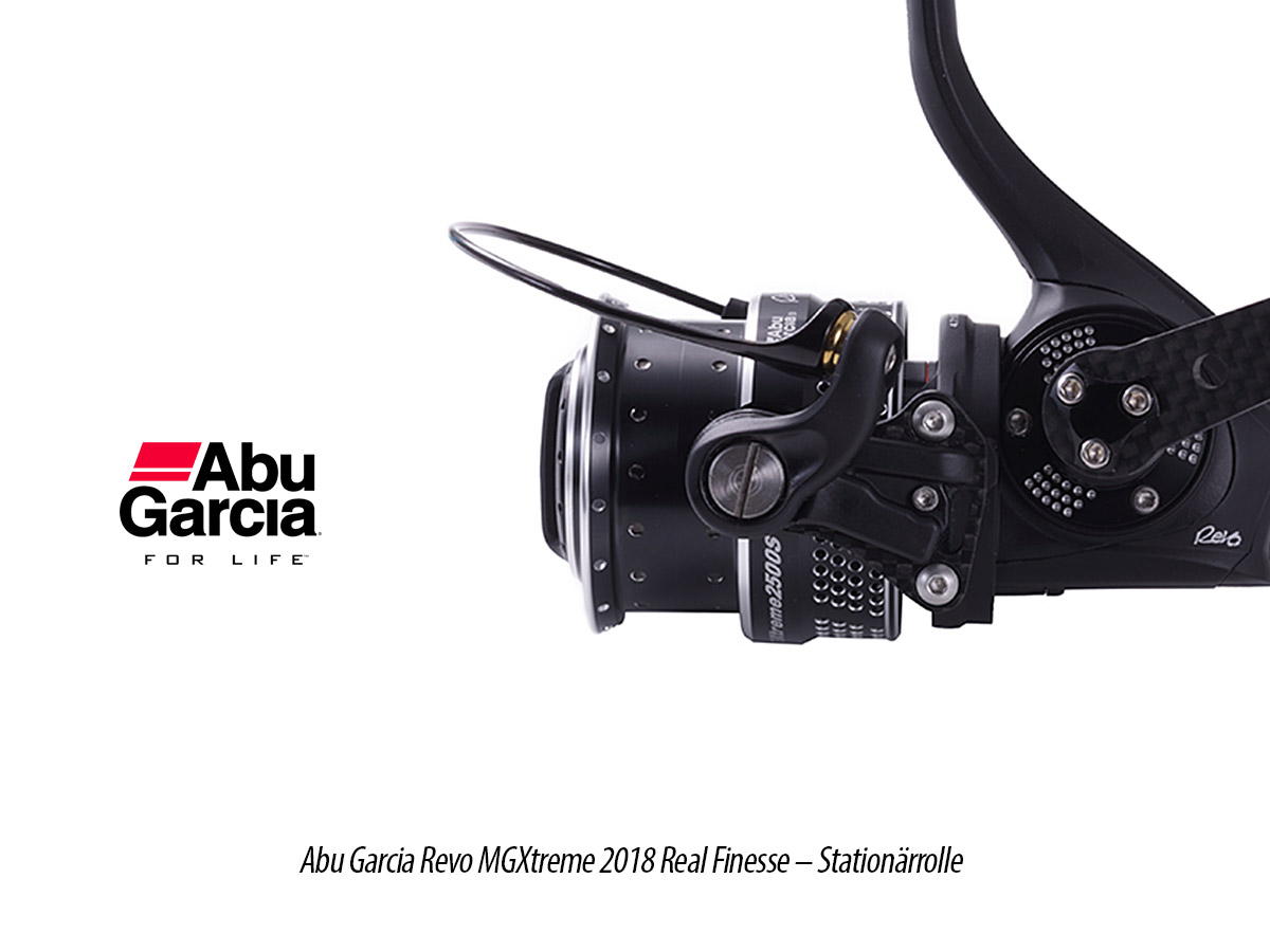 Abu Garcia Revo MGXtreme 2018 Real Finesse - Stationärrolle, 6
