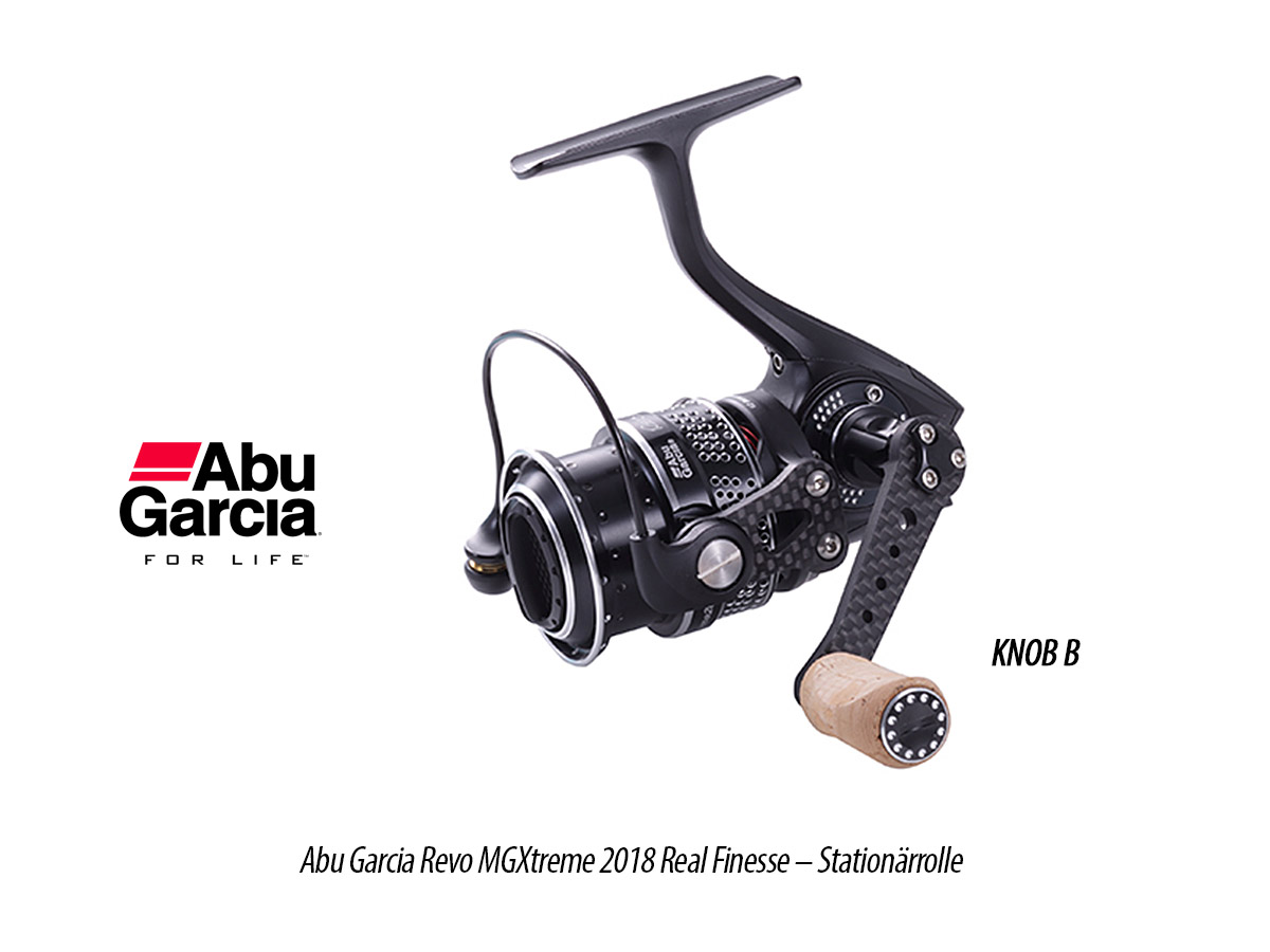 Abu Garcia Revo MGXtreme 2018 Real Finesse - Stationärrolle, 8