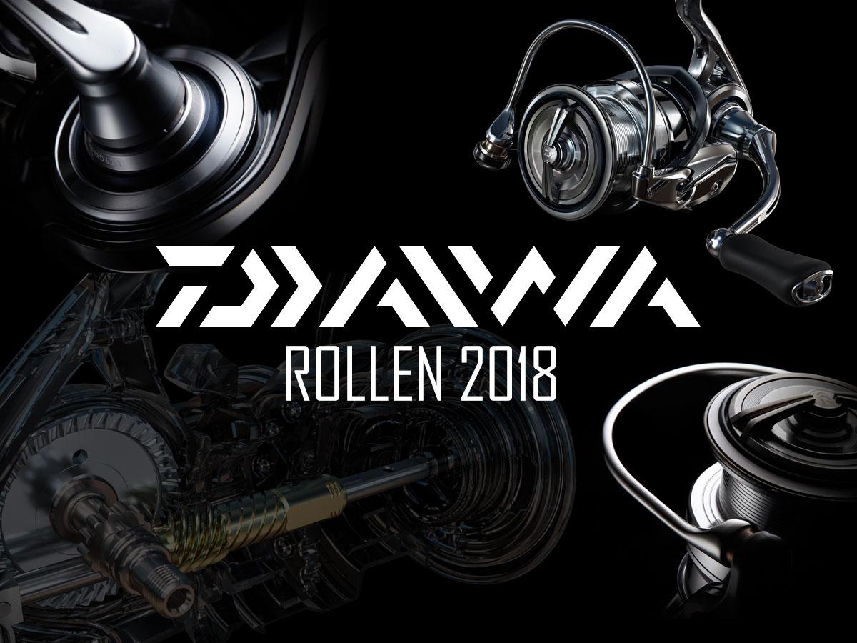 DAIWA Rollen 2018 - Neuheiten & Highlights im Überblick