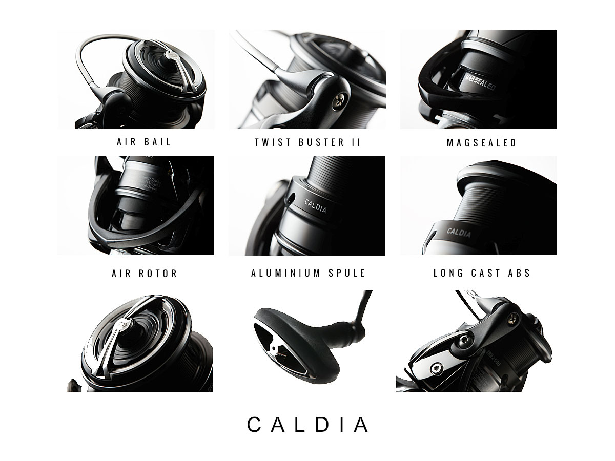 DAIWA Caldia 2018 - Ausstattung, Merkmale & Highlights