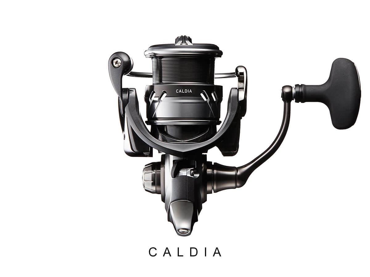 DAIWA Caldia 2018 - Ansicht von unten