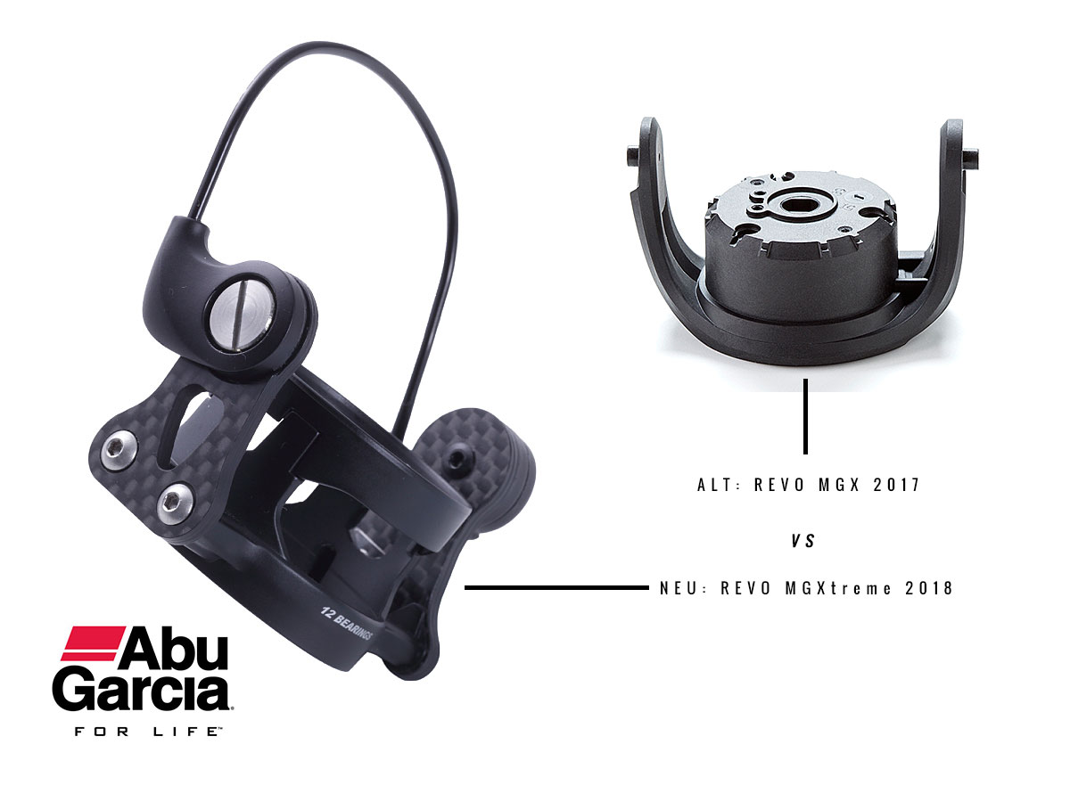 Alt vs. Neu - Der neue Rotor an der Abu Garcia Revo MGXtreme 2018 Real Finesse